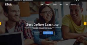 大气响应式的国外学校教育网站模板下载插图