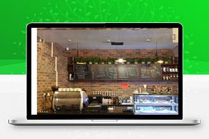 黑色奶茶西餐厅网站源码 织梦dedecms模板 [自适应手机版]