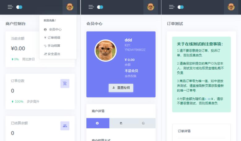 2021全新开源无加密Oreo易支付程序插图