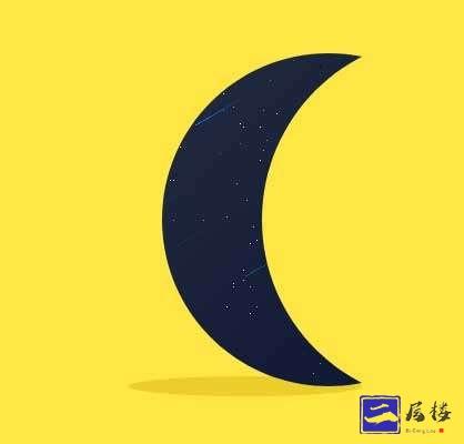 css3阴影的月亮动画特效插图