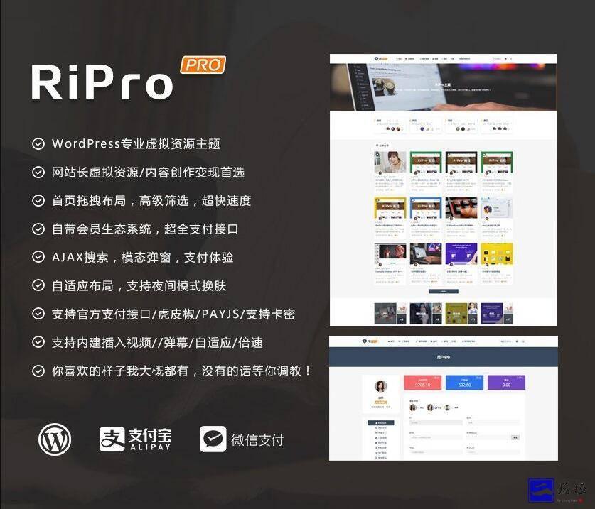 WordPress主题ripro8.7日主题开心版插图