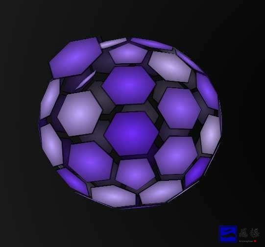 3D网状球动画特效插图