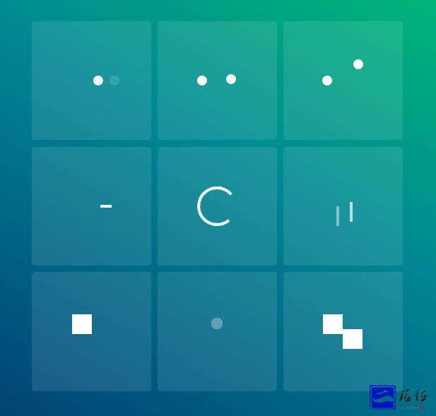 简易的css loader加载动画特效