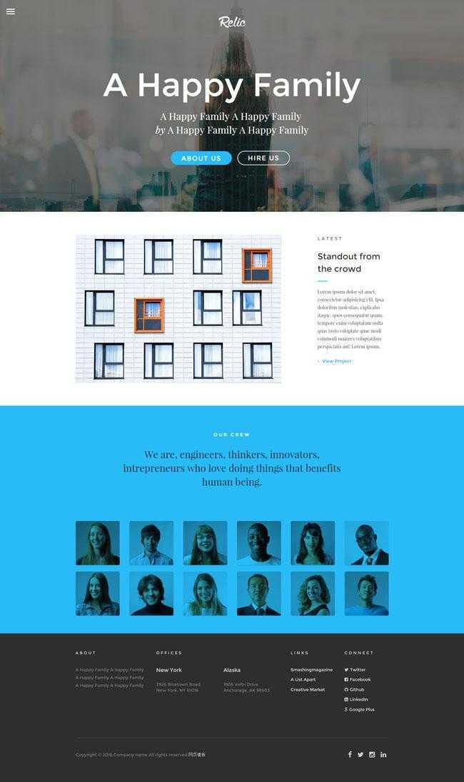 HTML5摄影工作室作品网页模板插图