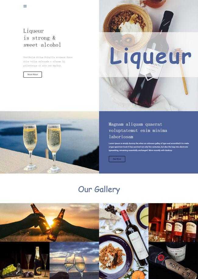 精品葡萄酒酒庄网站模板插图