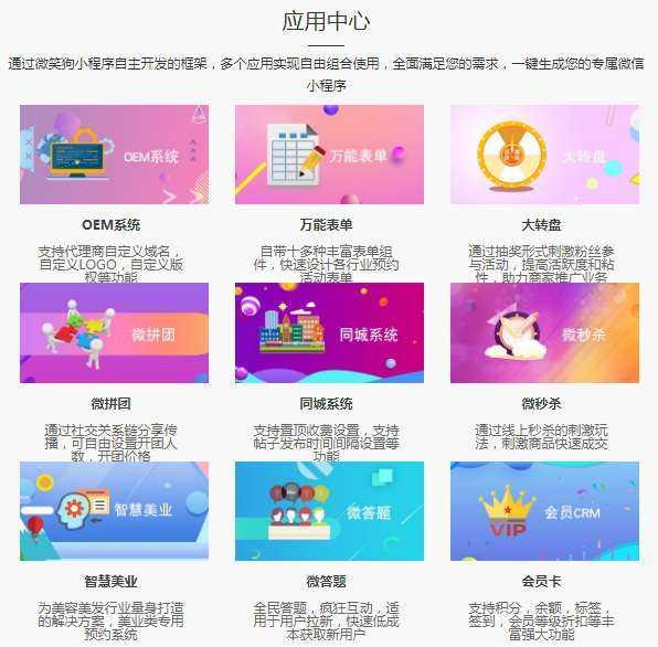 可视化小程序平台源码微笑狗带OEM招商加盟修复版插图